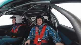 Улетный заезд на Subaru WRX STI!
