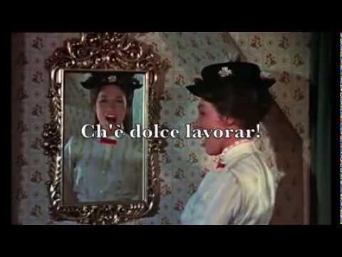 Mary Poppins - Un poco di Zucchero Karaoke Ita