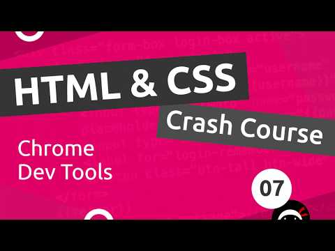 HTML & CSS Crash Course Tutorial #7 - Chrome Dev Tools