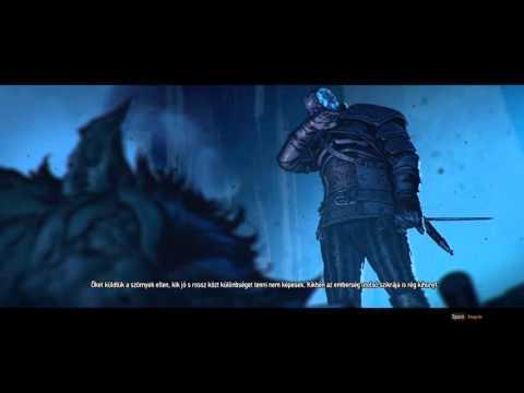 The Witcher 3 Wild Hunt Intro Opening Cutscene (Magyar Felirattal)