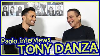 What does Tony Danza remember about Frank Sinatra?