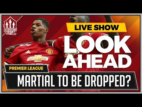 West Bromwich Albion vs Manchester United Preview | Anthony MARTIAL Faces The Chop