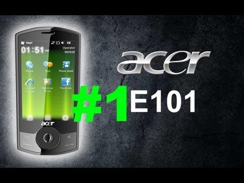 Смартфон Acer E101. 3D Моделирование. Урок 1