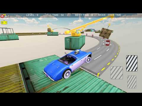 Impossible Car Stunt Race / 3D Mobil Car Racing Game / Android Gameplay #2 FHD