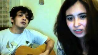 Ayushita and Ricky Virgana (cover The Bird and The Bee - Heard it on the radio )