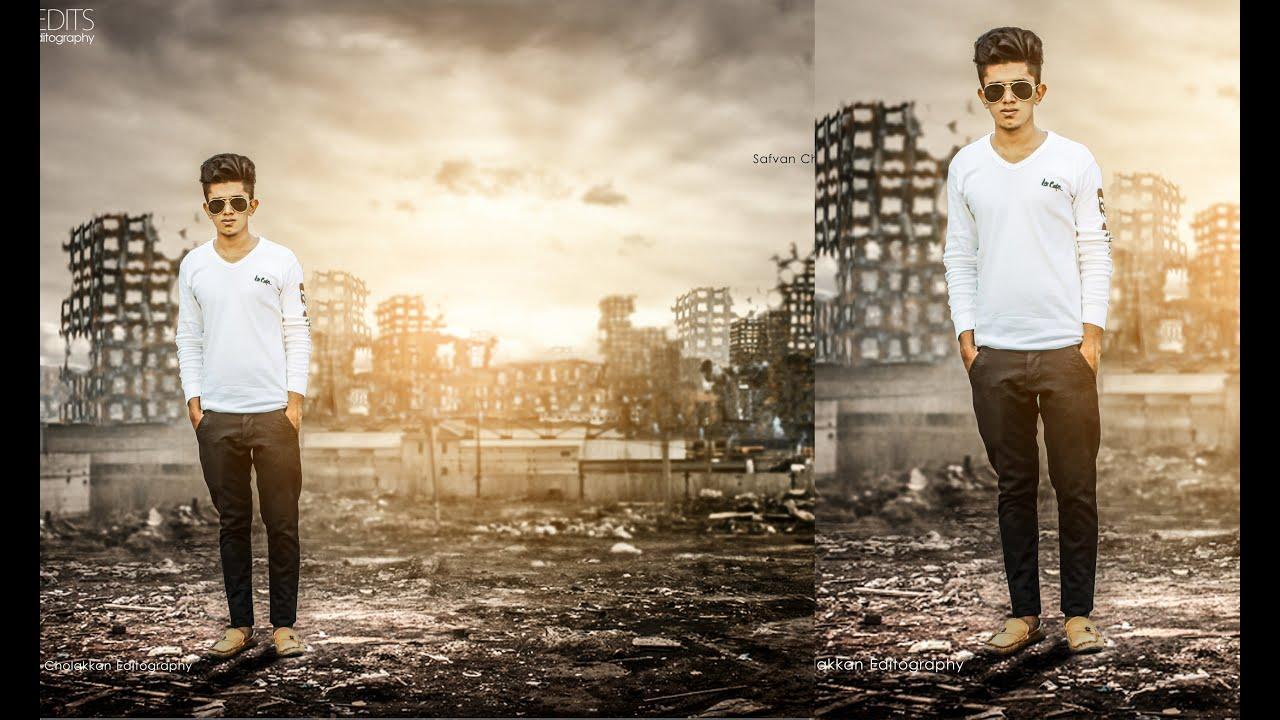photoshop photo editing & manipulation | photoshop tutorial | change