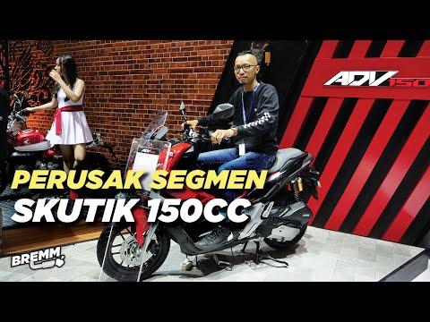 GIIAS 2019: Review Honda ADV150, si Yamaha Nmax Killer!
