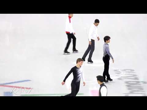 Group 5 introduce Short program(SP) 4K 180216 Pyeongchang 2018 Figure Skating Men Single