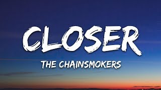 Gambar cover The Chainsmokers - Closer (Lyrics) ft. Halsey