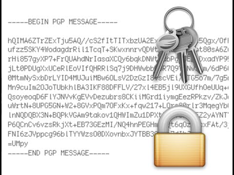 HOWTO setup Email encryption with GPG on Apple Mail and Thunderbird enigmail