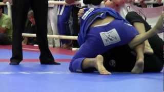 Bay Area Jiu-jitsu Championships 2012- Sergio Costa x Chris Coldiron (Black Belt Superfight)