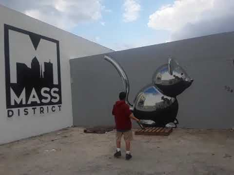 Visit  to mass district and macart gallery in fort lauderdale. Florida, see the future of art(2)