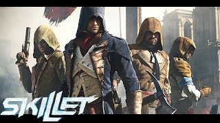 Assassin's Creed ACMV (2016) - Skillet - Comatose, Awake and Alive, Monster,Inside The Black.[HD]