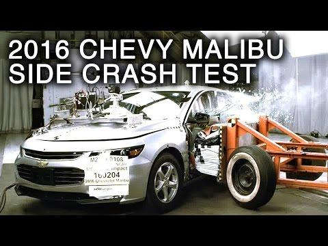 2016 Chevy Malibu Crash Test (Side Crash)