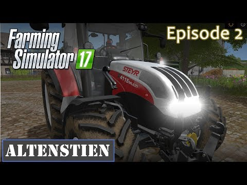 Altenstien Farm - Episode 2 - Farming Simulator 17 - Selling off crops