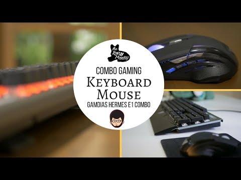 "Gamdias E1 Combo, Keyboard dan Mouse ""Cakep"" Rp 800,000 Aja - Lazy Tech"