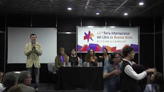 """Presentación de  """"Anécdotas de Magia Iniciática"""" en la 43 Feria del Libro de Argentina"""