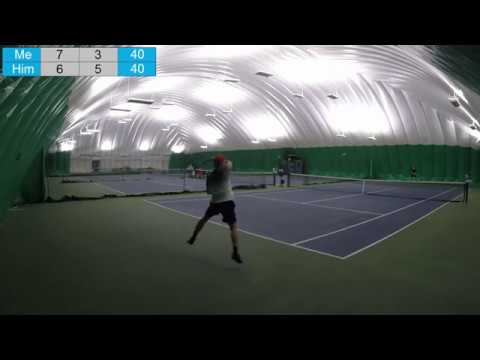 UTR Tournament! (UTR 10) Highlights of My First Round! Very Close Match and Tight Spots
