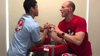 Arm Wrestling Secrets - Part 2 - Critical Positions in Arm Wrestling