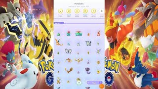 POKEMON GO | POKEDEX 100% COMPLETED 622/622 (OCTOBER 2020)
