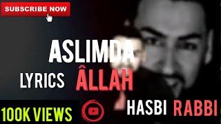 Lyrics Geeflow Musab | New Hasbi Rabbi Jallallah Turkish Lyrics  | Tiktok Famous | Ibn Ul Arabi Zikr