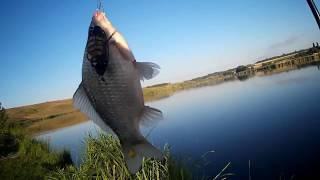 Удачная зимняя рыбалка! Хороший клев леща карася и плотвы! Рыбалка на фидер 2018