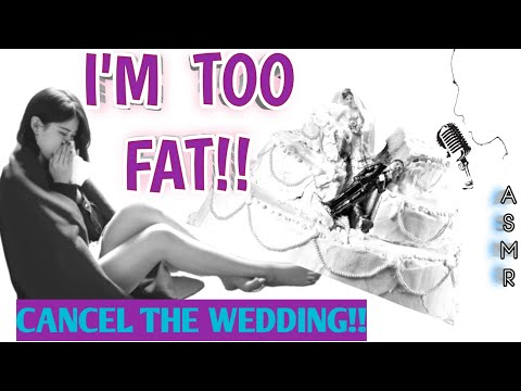 ASMR WEDDING   YOU WANT TO CANCEL OUR WEDDING BECAUSE OF THAT?   PLEASE NO!   ASMR BOYFRIEND COMFORT