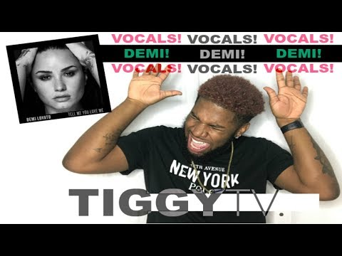 DEMI LOVATO - YOU DON'T DO IT FOR ME ANYMORE | REACTION | TIGGYTV