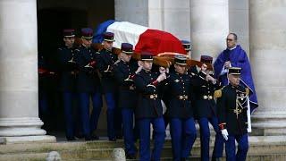 Hommage national à Jean d'Ormesson : Macron salue