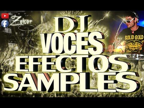 SUPER EFECTOS DJ - PLACAS PICK-UP - CUÑAS LOCUTORES