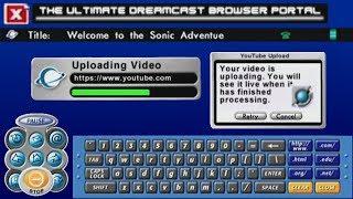 YouTube in Sega Dreamcast