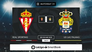 Real Sporting UD Las Palmas MD31 D1815