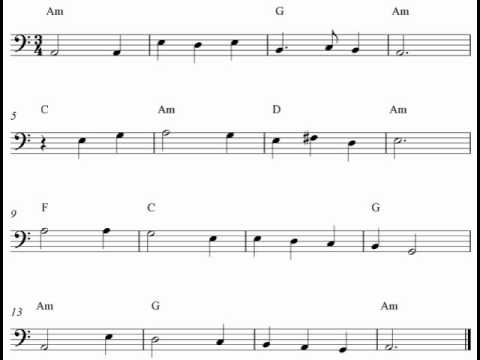 Sheet music for guitar free