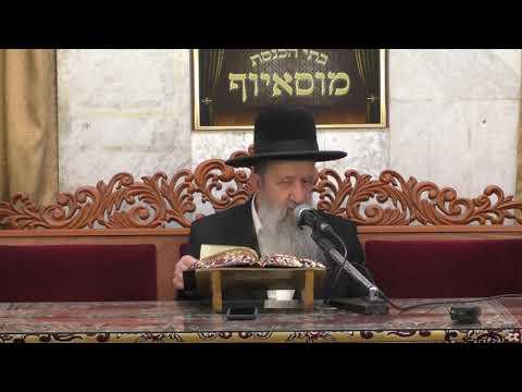 הרב בן ציון מוצפי מעלת ליל הסדר וקדושתו