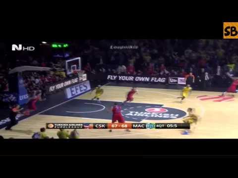 CSKA Moscow vs Maccabi Tel Aviv 67-68 Euroleague Final Four {16/5/2014}