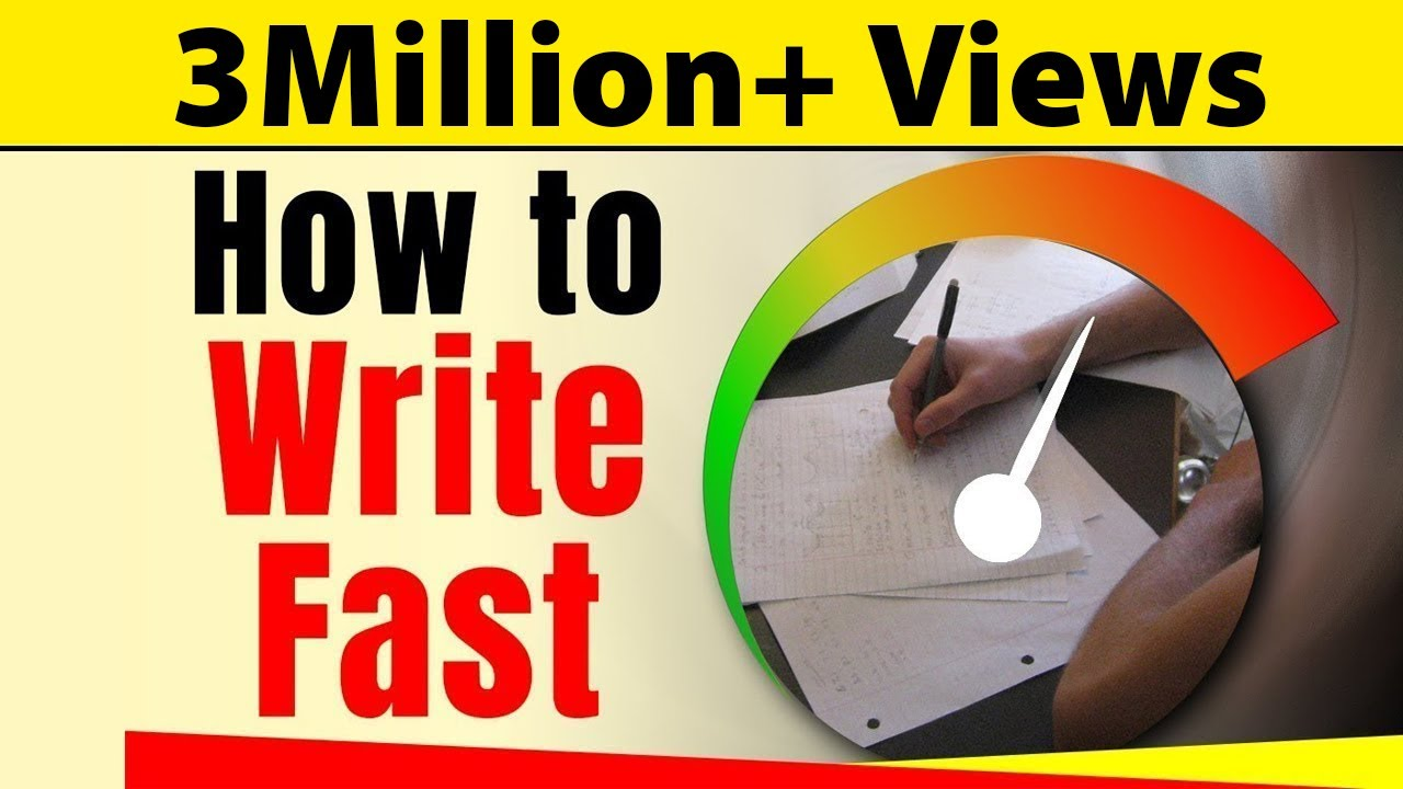 How to Write Fast With Good Handwriting | Exam Tips For Students | LetsTute