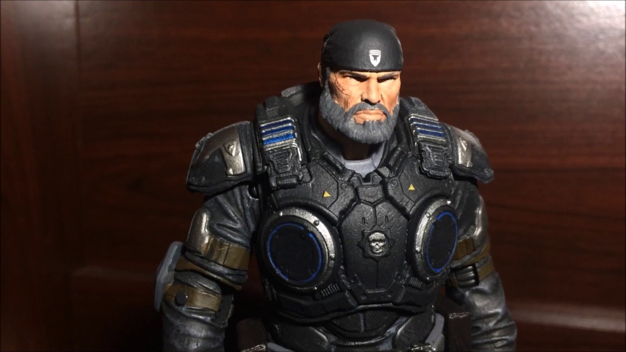Gears Of War 4 Marcus Fenix Collectible Action Figure Review By Mcfarlane Toys