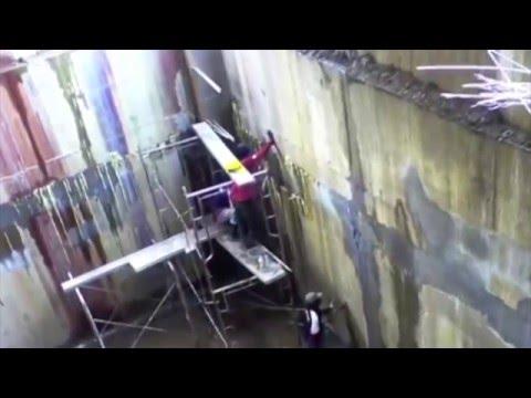 Инъектирование бетона: видео инструкция по работе гидроизоляции потолков, стен, фундаментов и тп