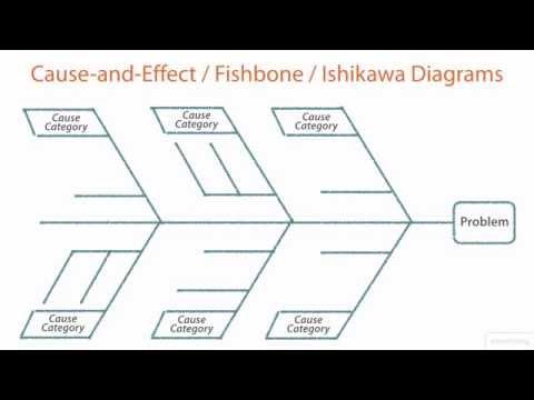 PMP - Cause-and-Effect Diagrams & Pareto Diagrams