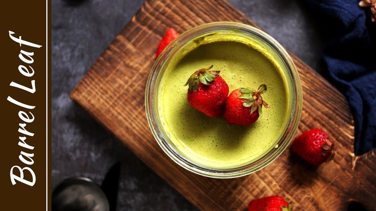 全素抹茶幕斯杯 Vegan Matcha Mousse Pots & 淘宝开箱 - 琺瑯鍋