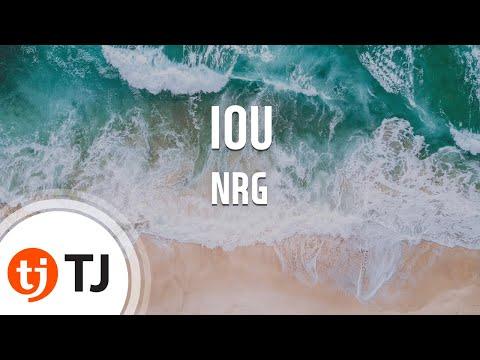 [TJ노래방] IOU - NRG / TJ Karaoke