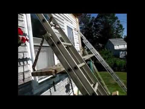 Dad S Adjustable Scaffolding And Ladder Hangers Youtube