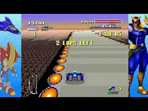 F-Zero | All 3 Leagues as Blue Falcon [HD]