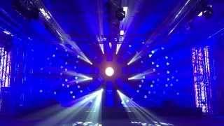 EuroShow Stage световое шоу Prolight + Sound NAMM Russia 2015