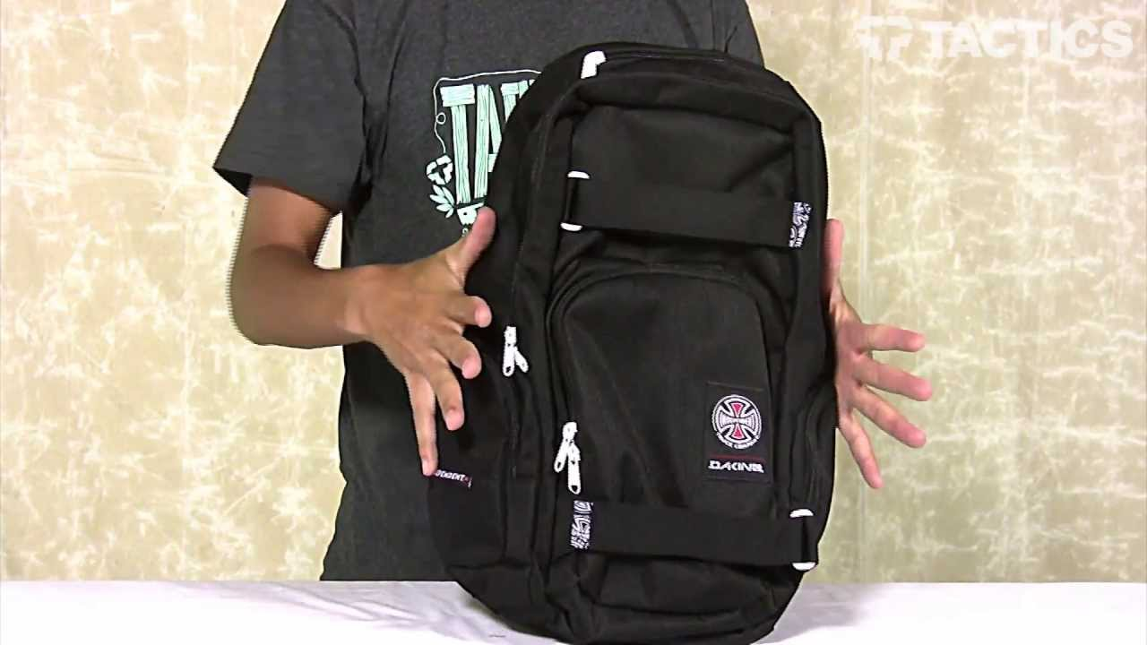 DAKINE Atlas Backpack Review - Tactics.com - YouTube