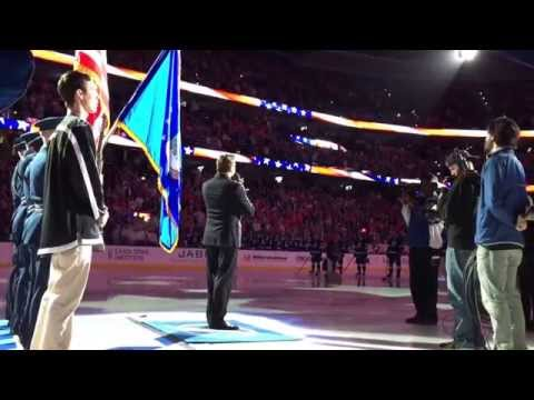 Star-Spangled Banner by Cody Austin at the Tampa Bay Lightning NHL game