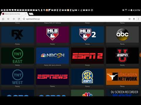 All the major sporting events everyday FREE plus FREE USA TV channels.
