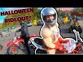 NEWARK HALLOWEEN RIDE OUT (EPIC !)