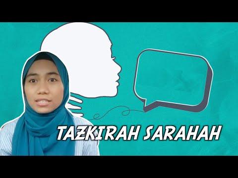 Tazkirah Sarahah