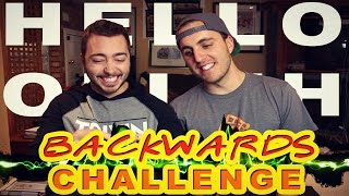 THE BACKWARDS CHALLENGE